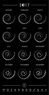 2019 Moon Phase Calendar Moon Phase Calendar Moon Phases