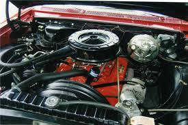Impala Engine Options: 1964