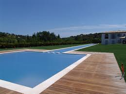 in ground rigid slatted automatic pool cover covertech grando lap pool