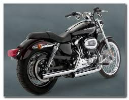 hines straight shots hs slip on exhaust sportster 07 up