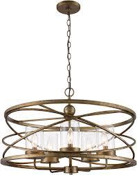trans globe 10525 asl altadena modern antique silver leaf drum hanging pendant light tra 10525 asl