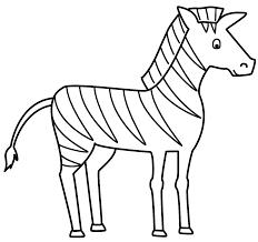 zebra coloring book 11