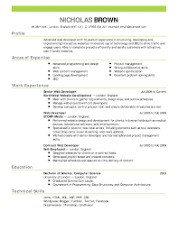 Excellent Resume Sample Perfect Resume Layouts On Microsoft Word 12 ...