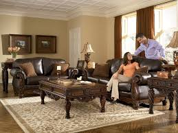 dark furniture living room. North Shore - All Leather Brown Traditional Sofa Set Old World Couch Living Room. Dark FurnitureLiving Furniture Room R