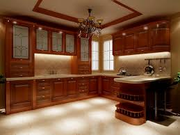south american cherry wood kitchen cabinets with bar