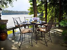 meadowcraft wrought iron dining
