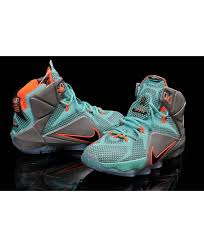lebron james shoes 12 for kids. nike lebron 12 nsrl shoes for young boys girls blue/orange/gery lebron james kids
