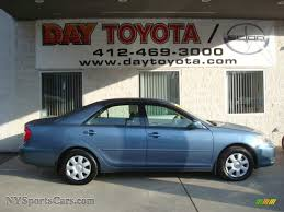2002 Toyota Camry LE in Catalina Blue Metallic - 550295 ...