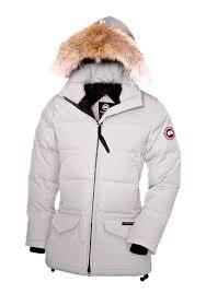 Dame Canada Goose Online Solaris Parka 3034L Quiltet jakke Light Grey,canada  goose pricerunner,