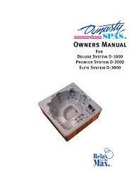 wind river spas odyssey owner`s manual