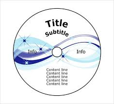 13 Cd Label Template Free Psd Vector Ai Eps Format