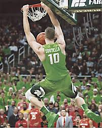 Matt Costello Kissing The Floor At The Breslin Autographed 8x10 Photo