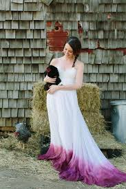 dyed wedding dress best of 11 dip dye bridal gowns that will give you weddingenvy pics