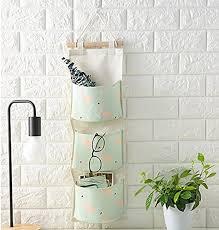 hanging door closet organizer.  Hanging Over The Door Closet Organizer Hanging Wall Storage Bags With 3 Pockets For  Bedroom U0026 Bathroom With