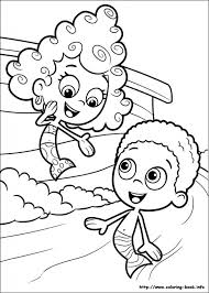 Small Picture Bubble Guppies Coloring Pages On Coloring Book intended for