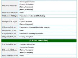 30 Conference Meeting Agenda Template, 8 Sample Professional Agenda ...