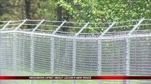 Neighbors upset about LECOMs barbed wire fence YOURERIE
