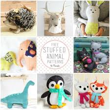 Free Printable Stuffed Animal Patterns