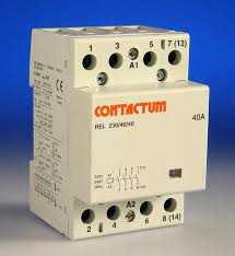 40 amp 4 pole contactor 3 module Contactor Relay Wiring Diagram product photo description 40 amp (resistive) contactor 4 pole