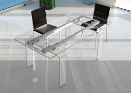 Italian Glass Dining Table Fortuny Extension Extendable Glass Dining Table Shop Online