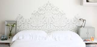 Get Dreamy with a headboard. Wallpaper Silvergate BP 852