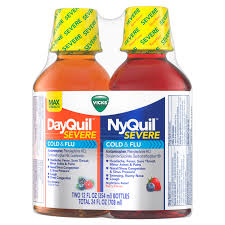 Vicks Nyquil And Dayquil Severe Cough Cold Flu Relief