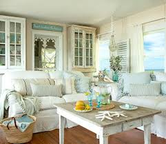 shabby chic beach furniture. shabby chic white u0026 pastel living room in a beach cottage take the tour here furniture