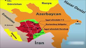 Azerbaycan Ermenistan cephe hattında son dakika haritası - YouTube