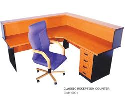 orange office furniture. Office-business-furniture-classic-reception-desk Orange Office Furniture