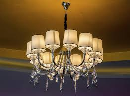 drum shade chandelierth crystals shades clip on lamp non light designer lighting archived on lighting