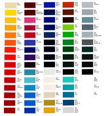 Solfine Color Chart Color Formulation Chart Home Decor Interior Design And