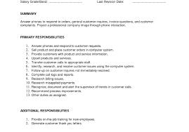 Restaurant Resume Skills Free Resumes Tips