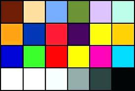 Printer Test Color Page Test Print Page Color Color Print Test Page