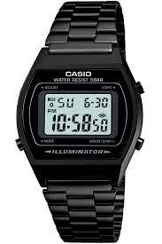 casio collection retro black mens watch b640wb 1aef