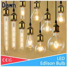 lampada led filament glass light edison blub lamps 220v led edison chandelier e14 e27 240v vintage