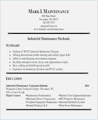 maintenance resume samples industrial maintenance resume samples fluently me
