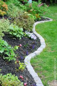 garden edging ideas most people struggle with perfect garden borders but this idea is stunning and garden edging ideas