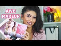 רושם ראשוני על המוצרים החדשים של awb makeup vidoemo emotional unity