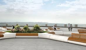 urban furniture designs. Banc Public Design Original En Bois Granite LORENZ Regarding Urban Furniture Designs 11 R