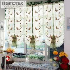 Großhandel 1 Stücke Pastoralen Tüll Fenster Römischen Vorhang