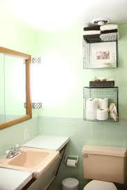 diy bathroom wall storage. diy bathroom hanging baskets diy wall storage