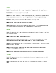 A Diet Chart For Gaining Weight The Mass Effect Diet Is A Meal Plan Designed For Tone Diet