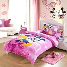 mickey mouse quilt comforter bedding sets single twin size duvet covers bedspread cotton fabric reactive print