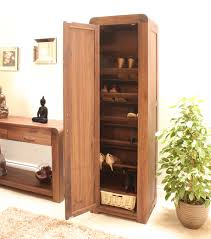 furniture for shoes. Strathmore Solid Walnut Furniture Shoe Cupboard Cabinet Tall Hallway Storage For Shoes P