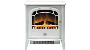 dimplex courchevel 2kw electric fire heater white