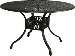 lovable round metal outdoor table 42 round patio table starrkingschool