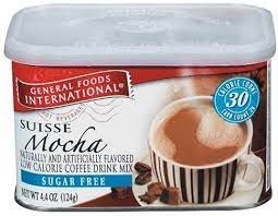 General foods international coffees is a line of instant coffees that were first introduced in the 1970s. Amazon Com General Foods International Sugar Free Suisse Mocha Coffee Drink Mix 4 4 Ounce Tins Pack Of 6 Instant Coffee Grocery Gourmet Food