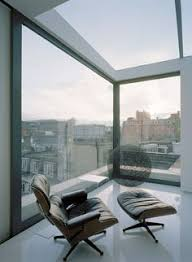 eames lounge chair by vitra in a soho apartment london by dive architects