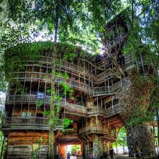 Exellent Pete Nelson Treehouses Of The World Largest Treehouse At Crossville Tennessee Stands Over 100 Throughout Inspiration