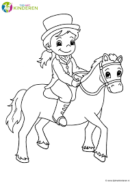 Een Meisje Tekenen Kleurplaat Kleurplaat Voor Kinderen